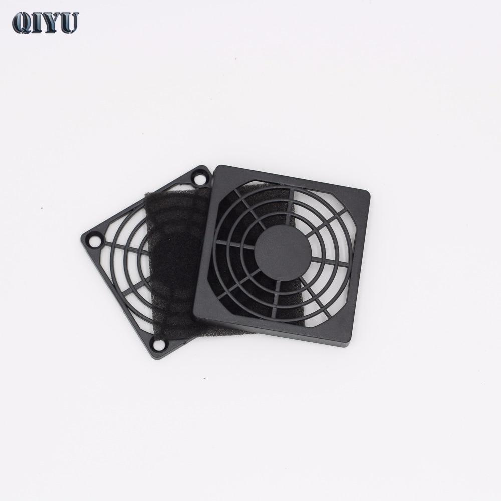 6 см вентилятор охлаждения пластиковые сетки, черный вентилятор, вентиляционное отверстие фильтр пыли оборудования, 60 мм вентилятора охлаж...