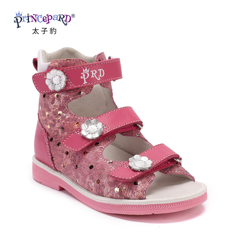 Princepard 2018 orthopedic shoes for children sandals baby casual sandals boys girls sandals Orthopedic footwear for kids princepard summer sandals orthopedic baby pink sandals antiskid girl shoes super quality kids shoes orthopedic baby shoes