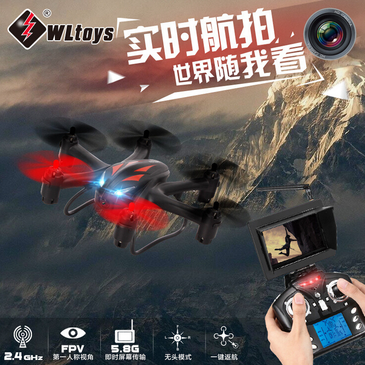ФОТО wltoys q282g q282 6-axis gryo 5.8g fpv 3d roll rc hexacopter with 2mp camera rtf 2.4ghz