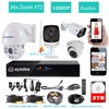 Eyedea 8CH HDMI DVR Recorder 1080P Audio 36x Zoom PTZ Speed Dome Control Waterproof Night Vision