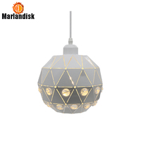 New Arrival Chandelier Lighting Modern Creative White Chandelier Lamp With K9 Clear Crystals For Living Room Dinning Room(DB 50)