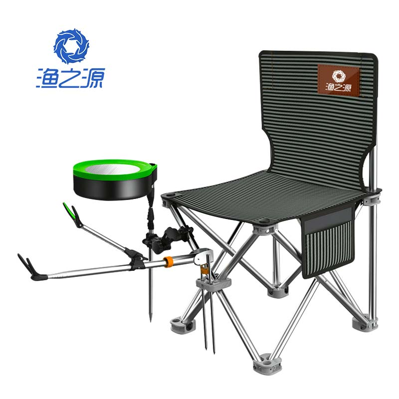 Fishing Chair Folding Portable Fishing Stool Thickening Fishing Chair Multifunctional Light Seat Fishing Gear Supplies