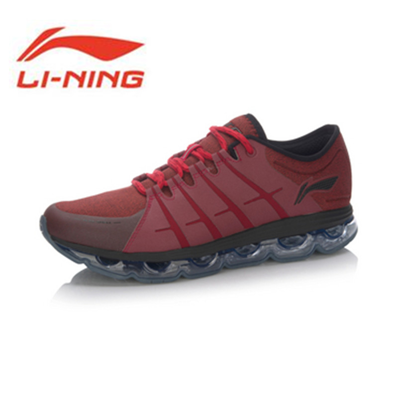 Li-Ning 2017 New Original Men's Cushioning Running Shoes Li-Ning Arc Light Sneakers Soft Footwear Classic Sports Shoes ARHM015 camssoo new running shoes men soft footwear classic men sneakers sports shoes size eu 39 44 aa40375