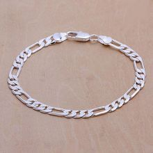 925 jewelry silver plated  jewelry bracelet fine fashion bracelet top quality wholesale and retail SMTH219