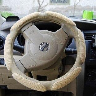 Couverture de volant de voiture couverture de voiture en cuir véritable chaude 525 523 s40 K2 K3 K5 X3 X5 A4 A3 IX35 Q3 Q5 sandwiches couverture