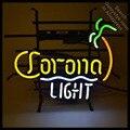 Неоновый светильник Coron для игры в пивной улов  знак  Настоящая стеклянная трубка  пивной бар  светильник для паба  вывеска для магазина  ручн...