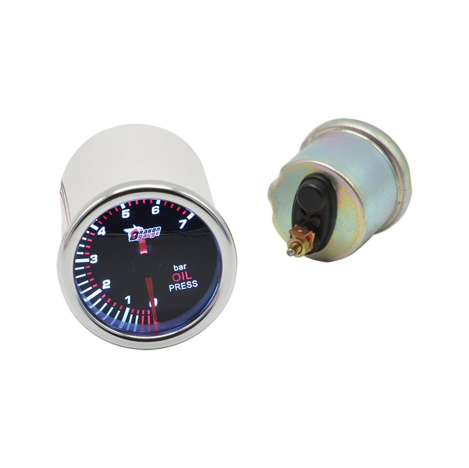 Medidores de pressão do óleo