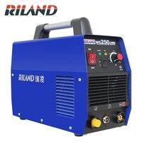 RILAND 220 В ARC Maunal сварочный аппарат инверторов IGBT сварщик сварочное оборудование MMA/дуговой TOOL KIT WS250S 10 250A