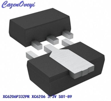 20pcs/lot XC6206P332PR XC6206P332 XC6206 3.3V SOT-89