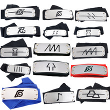 Naruto Headband Leaf Village โลโก้ Konoha Kakashi Akatsuki สมาชิก Headband Cosplay (China)