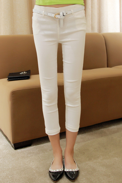 Pumpkin home 2013 summer candy color women's thin skinny legging pants