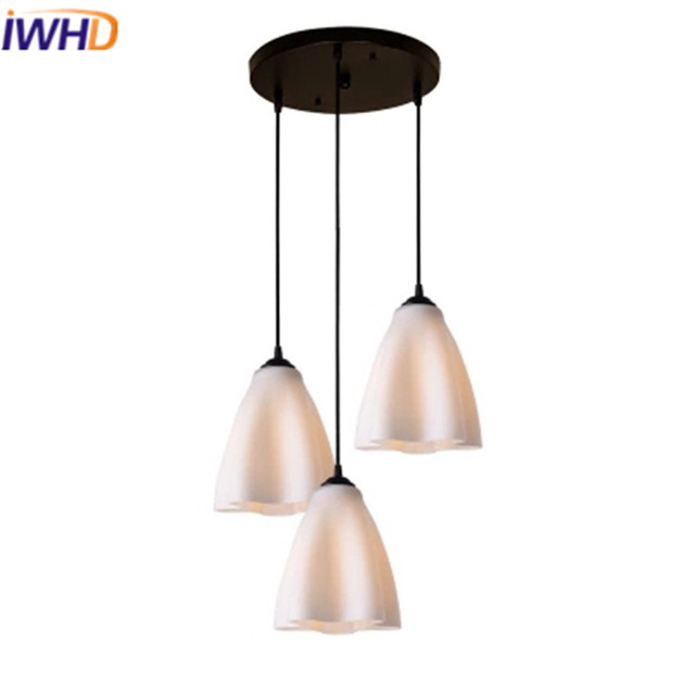 Lustre Room Bedroom In Luminaire Lighting Lights Led Modern Hanging Iwhd Lamp Glass Dining Home Creative Suspension Fixtures Pendant Light HD2IE9YW