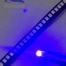 100PCS/lot SMD LED 2835 Blue Light 0.2W 460-465nm SMD 2835 L