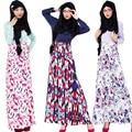 Длинные рубашки женщины-мусульманки ближний восток ислам хиджаб моды платья женщин кафтан лонг арабский макси платье мусульманское платье