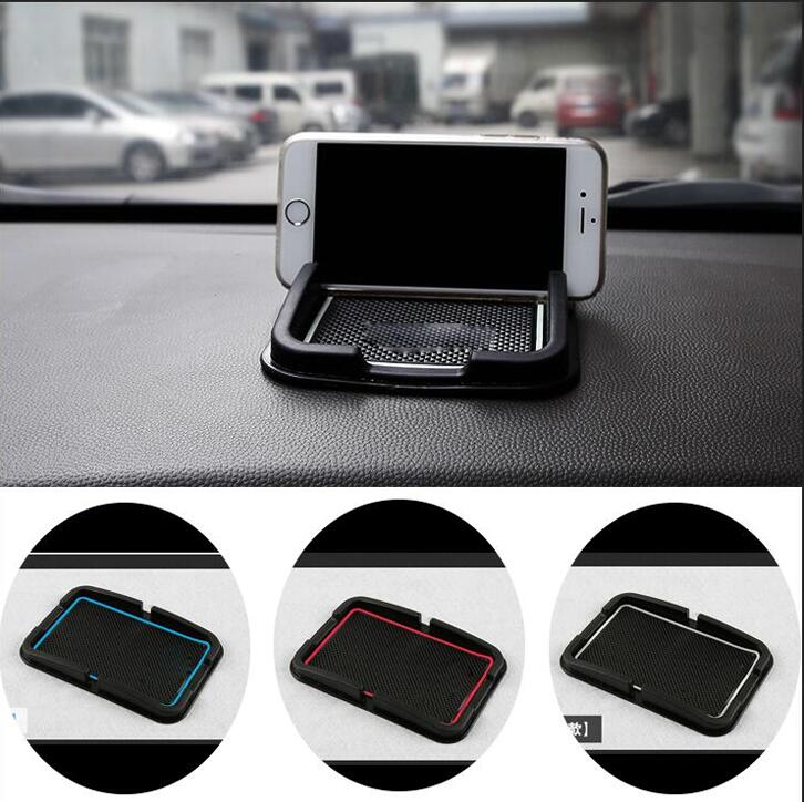 free shipping!car-styling case For Hyundai IX35 Car anti-skid pad Mobile phone car mat accessories car styling