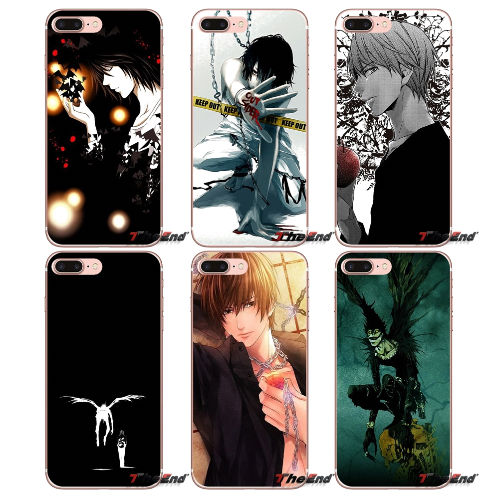 Japan Anime Manga Death Note Ryuk TPU Case For Apple