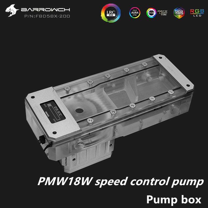 Купить с кэшбэком Barrowch PWM18W speed control pump pump box integrated multi-length FBD5BX-200