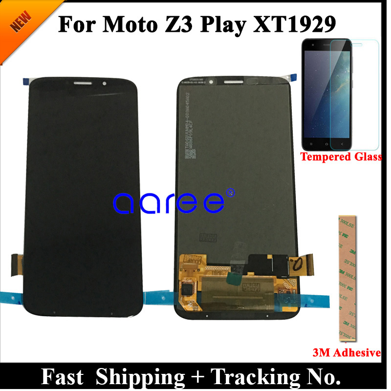 Tested  LCD Screen  For Moto Z3 Play LCD Z3 Play Display For Moto Z3 Play XT1929 Display LCD Screen Touch Digitizer Assembly-in Mobile Phone LCD Screens from Cellphones & Telecommunications    1