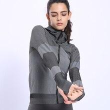 BINAND женское профессиональное Спортивное нейлоновое худи для бега, высокоэластичное обтягивающее Впитывающее пот облегающее худи для спортзала, фитнеса, толстовки с капюшоном