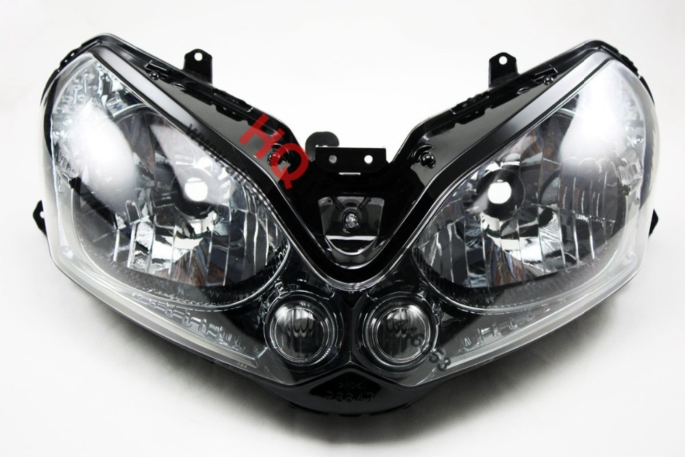 Headlight Assembly Headlamp For Kawasaki GTR1400 ZG1400 Concours 14 2008-2011 09 10 11 right combination headlight assembly for lifan s4121200