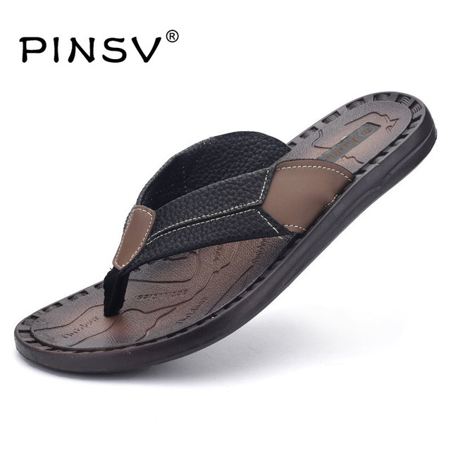11527286f59c Summer Sandals Men Summer Shoes Brand Flip Flops Men Sandals Flats Open Toe  Beach Slippers For Men Sandalias Hombre