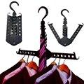 Espaço salvar magia roupas tie Hanger dobre Closet titular gancho Rack de ZH771