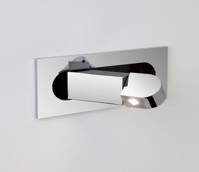 LED iron art embedded swivel wall lamp bedside reading hotel room lamp 360 degree rotation AC110V 220V 230V