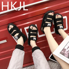 HKJL 2019 South Korea's version of the summer fashion trend couples flat flat cake and student sports casual sandals A322 hot new v23049 b1007 a322 v23049 b1007 v23049 b1007 a322 v23049 a332 24vdc dip