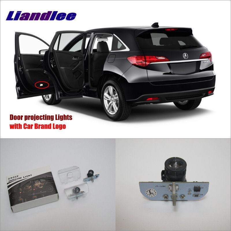 Liandlee Car LED Courtesy Welcome Lights For Acura RDX