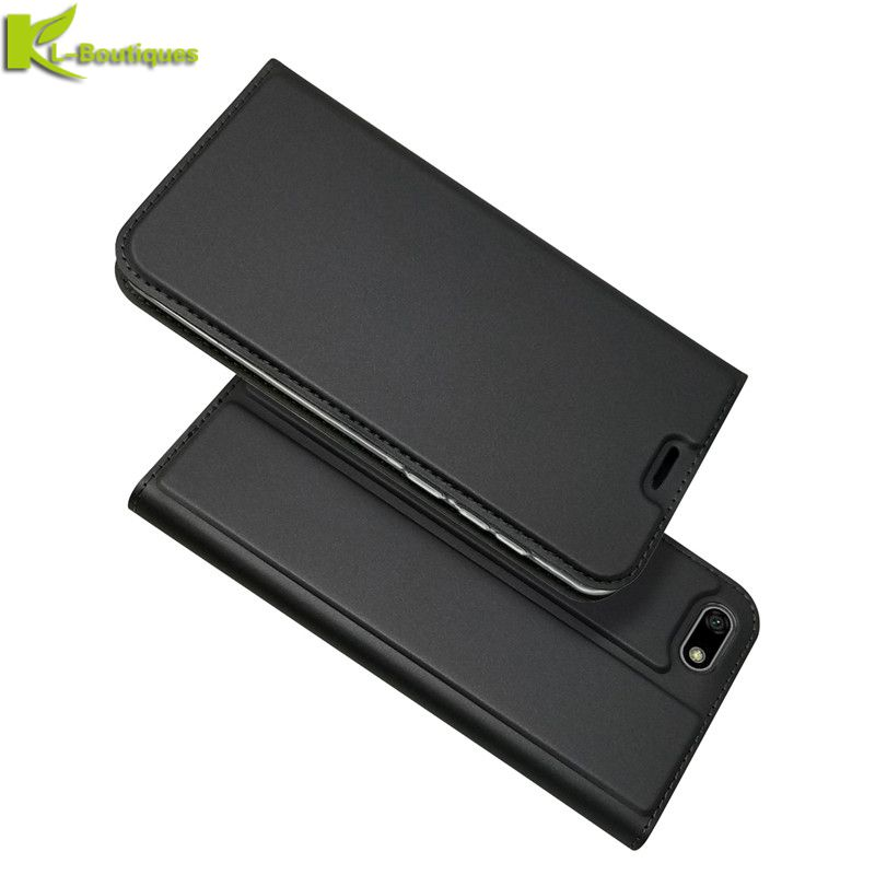 Huawei Honor 7A Leather Case on for Huawei Honor 7A Russian Version Cover DUA-L22 Case 5.45 inch Magnet Flip Wallet Phone Cases