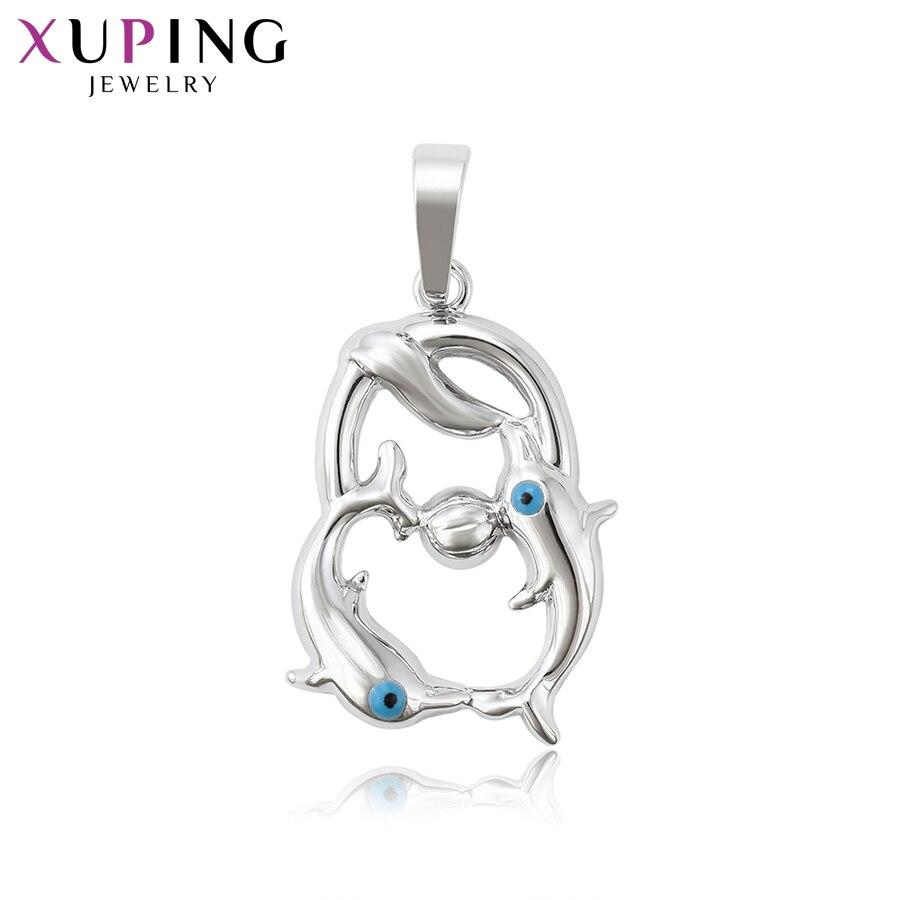 Xuping Fashion Jewelry Fish Shape Pendant for Women Man