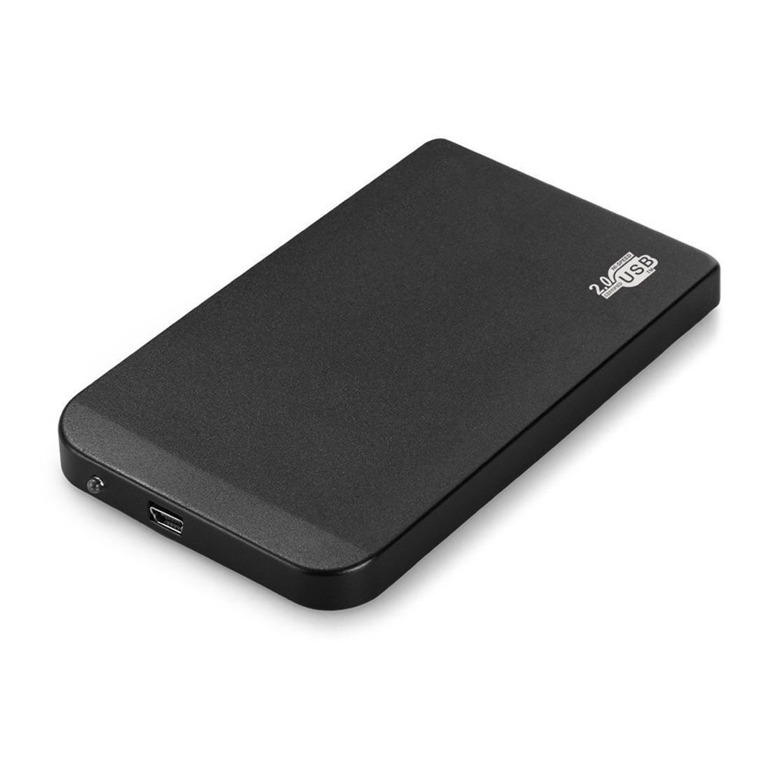 NOYOKERE Black External Hard Drive Disk Enclosure 2.5 Inch Usb 2.0 Ide Ultra Thin Hdd Portable Case 2 5 ide usb 2 0 external hard drive enclosure case black