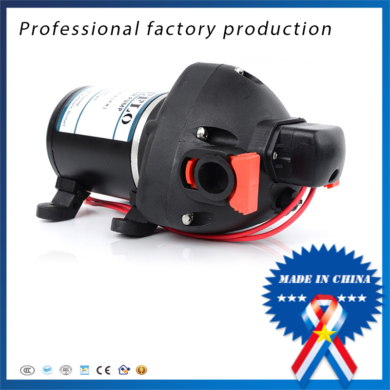 free shipping FL-704 24V DC Portable Electric Yacht Trailer Use Car Wash Self-priming Diaphragm Pump Factory Direct