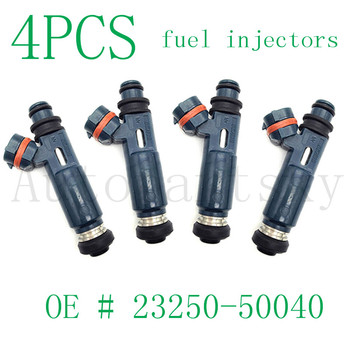 [ Set of 4PCS ] Fuel Injector Nozzle for Toyota for Lexus 23250-50040 2325050040 23209-50040