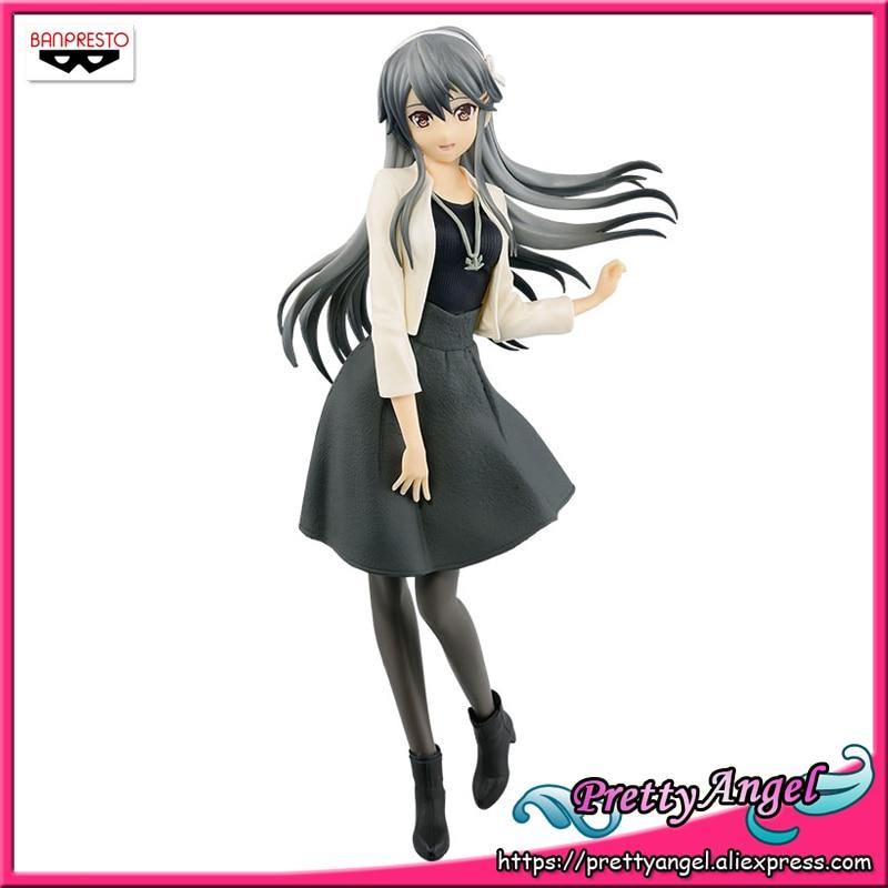 PrettyAngel Genuine Banpresto EXQ Kantai Collection Kan Colle Haruna Shopping mode Collection Figure