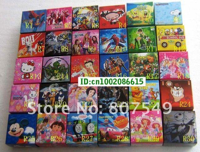 wholesale 100pcs fashion watch in box kids watch Christmas gift mix order