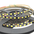 BLACK PCB 5mm Width 2835 SMD flexible led strip light 120led/m DC12V white Non-Waterproof warm white 5m ribbon tape light