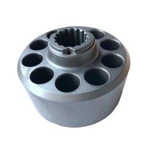 Image 4 - Nachi PVD 00B Pumps Parts PVD 00B 14P/15P/16P Pumps Internal Parts Repair Kits Cylinder Block Piston shoes Valve Plate Set Plate
