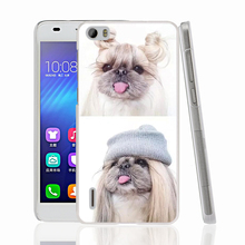 14903 Shih Tzu Shitzu Dog Puppy Puppies 1 Cover phone Case for sony xperia z2 z3 z4 z5 mini plus aqua M4 M5 E4 E5 C4 C5