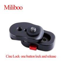 Cine Lock Mini Quick Release plate работает с волшебным креплением на руку и другими видеомониторами с 1/4 дюймовой резьбой