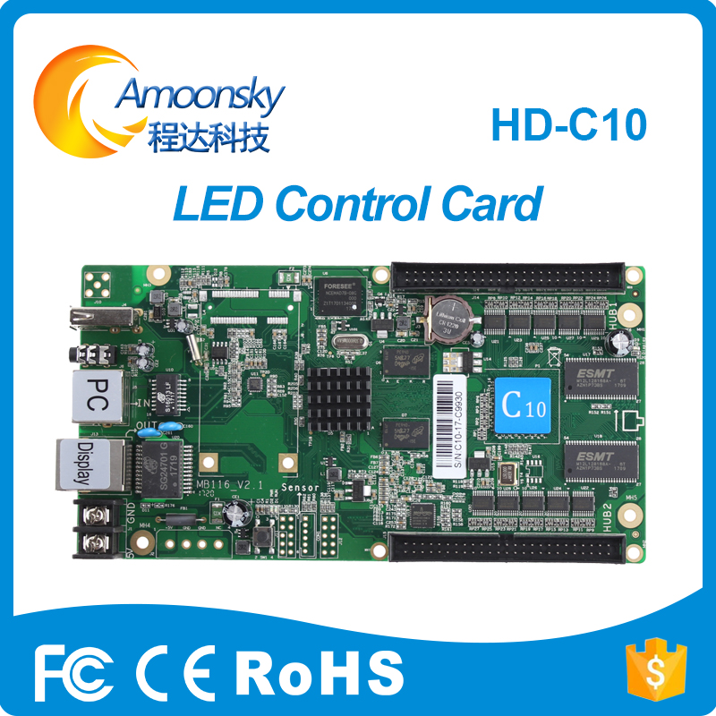 P10 Rgb Led Screen Display  Module Control Card Full Color Hd C10