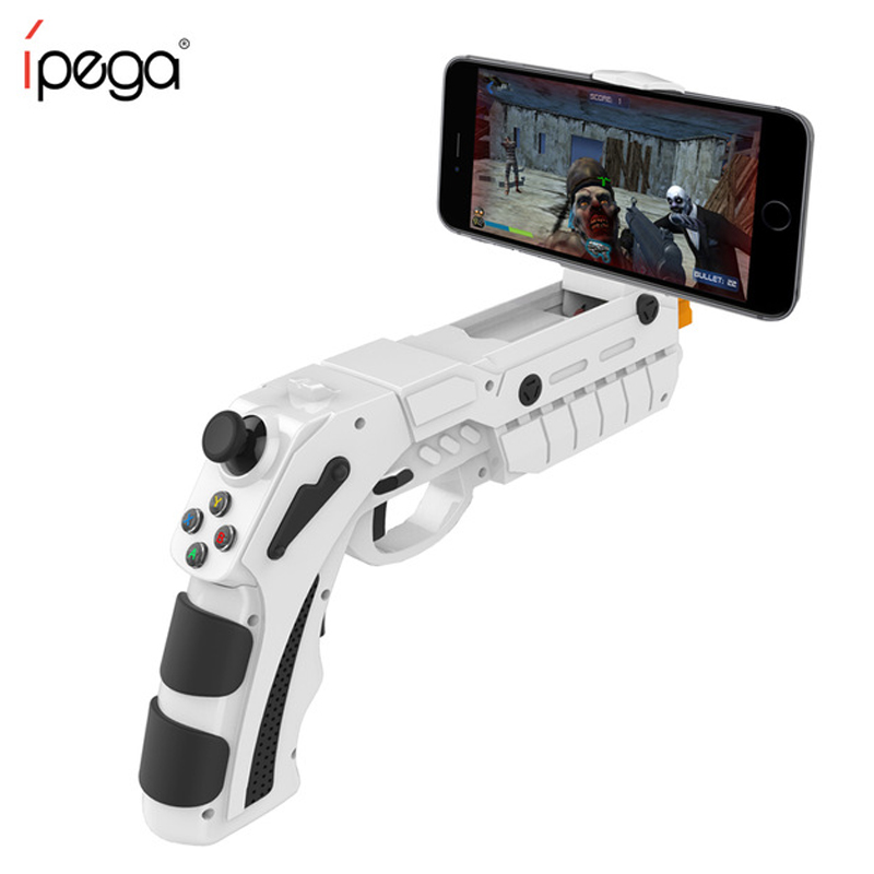 iPega PG-9082 PG 9082 Bluetooth Gamepad Shooting AR Gun Joystick for Android iOS Phone PC AR Game Controller intelligent ar gun ar86