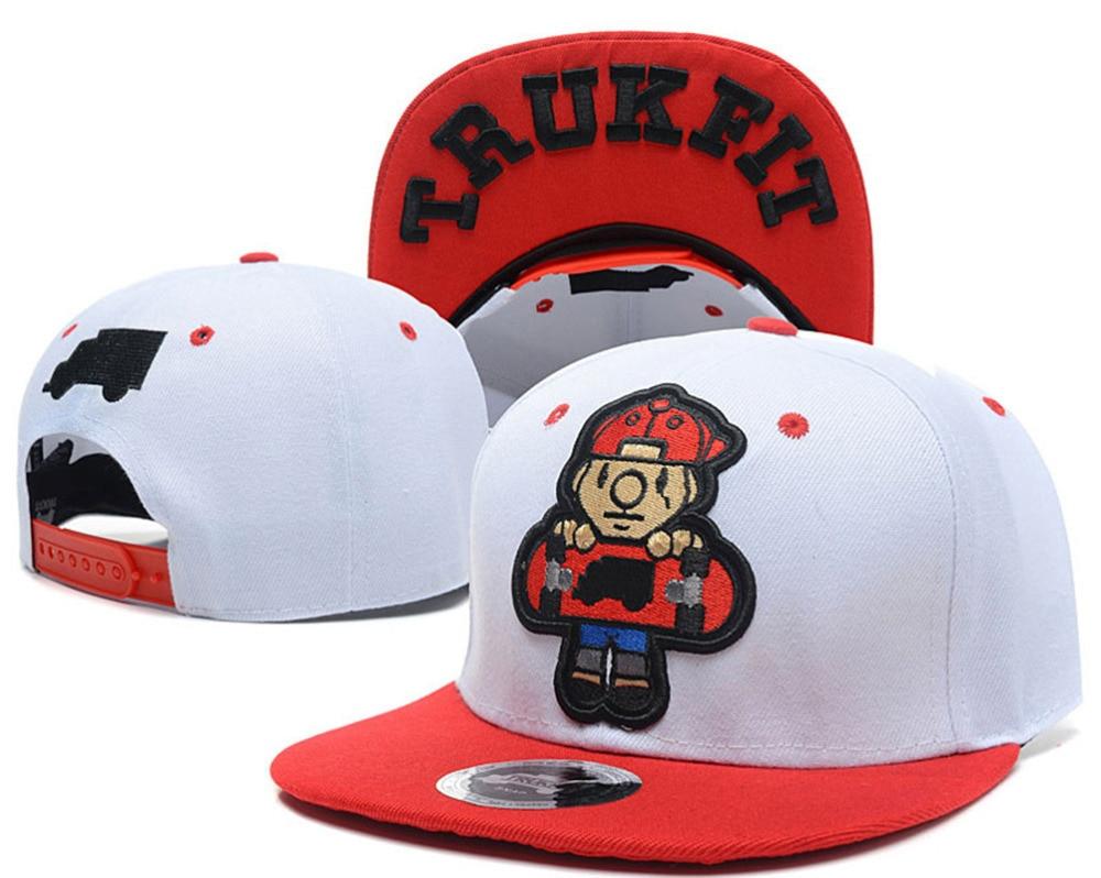 1bf77ede Skateboard TRUKFIT snapback caps & hats for men women bones swag 5 panel sun  hat BOY fashion baseball cap hip hop bboy gorras-in Baseball Caps from  Apparel ...