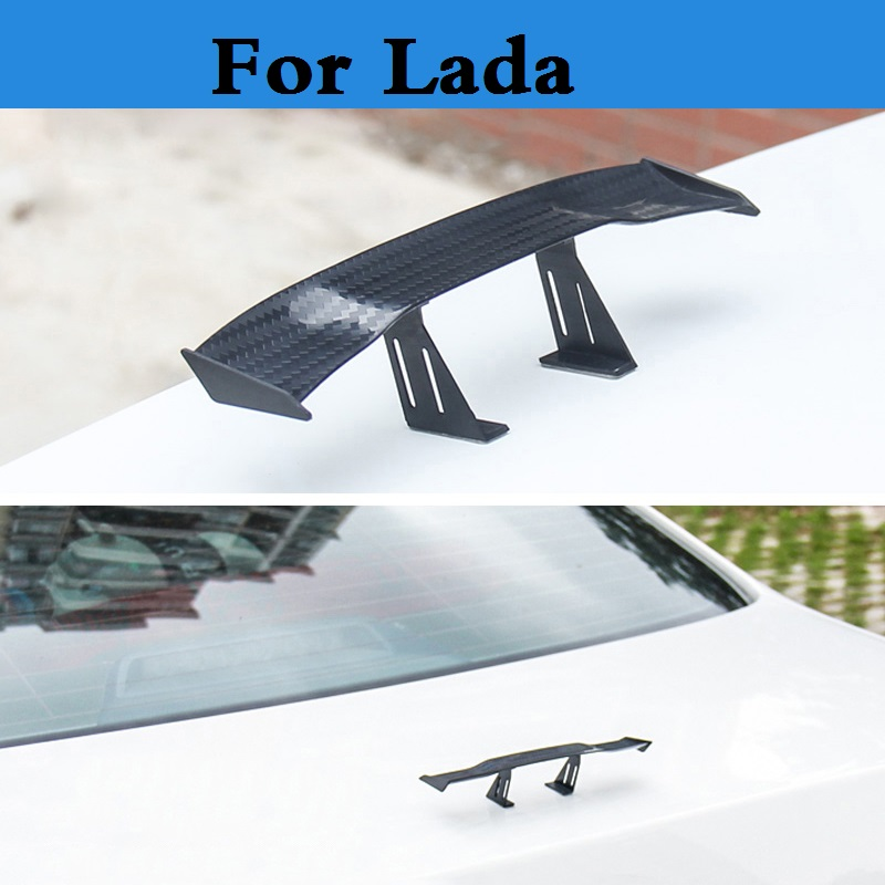 car styling Car Hatchback Lightweight GT Auto Rear Spoiler Wing Racing for Lada Oka 2105 2106 2107 2109 2110 2112 2113 2114 2115 yandex w205 amg style carbon fiber rear spoiler for benz w205 c200 c250 c300 c350 4door 2015 2016 2017