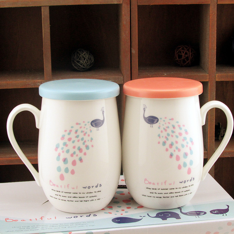 Cute Coffee Cups With Lids The Table