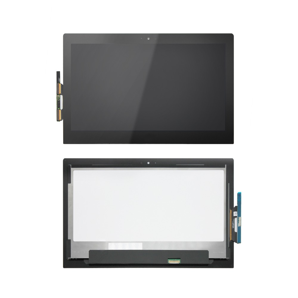 13.3 For Toshiba Satellite P30W P35W LCD Display +Touch Screen Digitizer Assembly,LP133WF3.SPA1 graceful cold shoulder crop top and tulle spliced skirt twinset for women