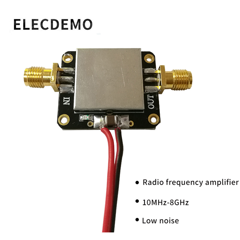 RF Amplifier Low Noise LNA Broadband 10M 8GHz Gain 12dB Flatness Good Function demo Board-in Demo Board Accessories from Computer & Office