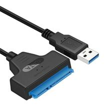 Novo usb 3.0 sata 3 cabo sata para adaptador usb até 6 gbps suporte 2.5 polegadas externo ssd hdd disco rígido 22 pinos cabo sata iii