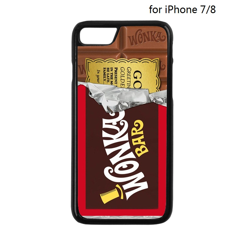 836979f075251 ≧Willy Wonka Chocolate Candy Bar Case for iPhone 4 4S 5 5S 5C SE 6 ...
