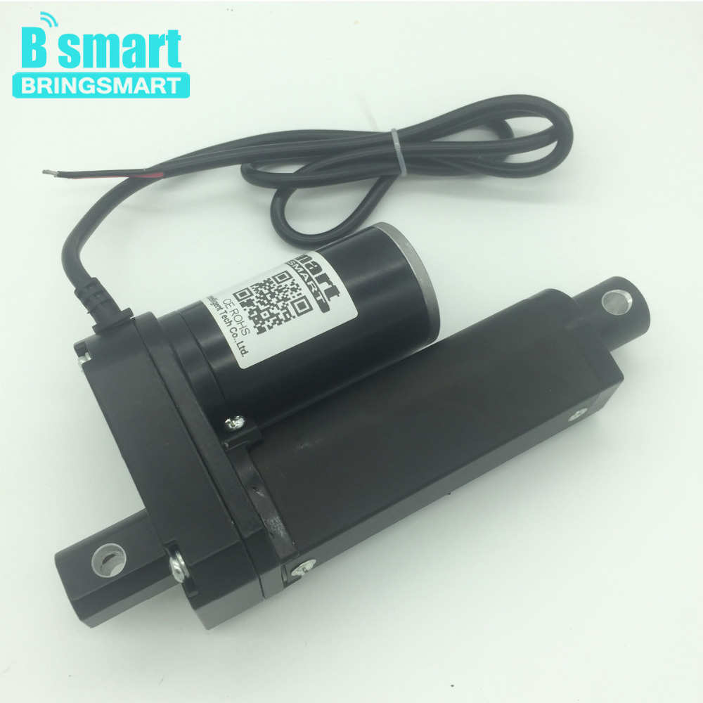 Wholesale Stroke Length 2 Inch (50mm) 12V 24V 36V 48V Dc Linear Actuator Motor 500-3500N 3-30mm/s For Electric Window Actuator wholesale 12v linear actuator 150mm 6 inch stroke 7000n 700kg load waterproof 36v tubular motor 48v mini electric actuator 24v